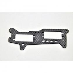 Befestigungsplatte für GP 2,5mm CFK Graupner HOP-0106
