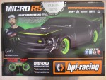 Micro RS4 RTR 1969 Ford Mustang RTR-X hpi racing H112468