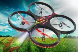 Flyscout AHP+ Quadrocopt.Komp-LED-Kamera Jamara 038540