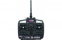 Fernsteuerung TX 5 2,4G Gas links Jamara 061210