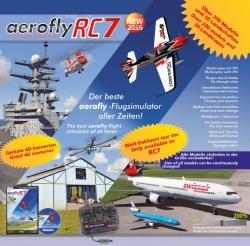 Flugsimulator AeroflyRC7ULTIMATE USB Win Jamara 065207