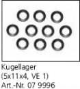 Kugellager 5x11x4 VE 1 ST. LD3 Pro+RTR Jamara 079996