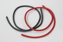 Kabel SILIKON 1,5qmm 1m rot/schw. Jamara 099920