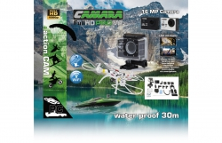 Camara Full HD Pro Wifi V2 schwarz Jamara 177890