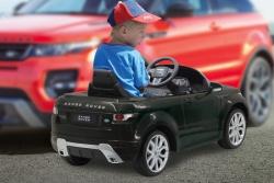 Ride-on Land Rover Evoque schwarz 40Mhz 6V Jamara 404779