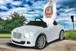Ride-on Bentley GTC weiß 40Mhz 6V Jamara 405016
