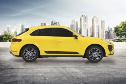 Porsche Macan Turbo 1:24 gelb 27MHz Jamara 405019