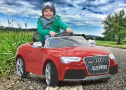 Ride-on Audi RS5 rot 2,4G 12V Jamara 405041