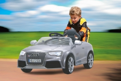 Ride-on Audi RS5 silber metallic lackiert 2,4G 12V Jamara 405042