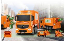 Müllwagen Mercedes Antos 1:20 2,4G Jamara 405079