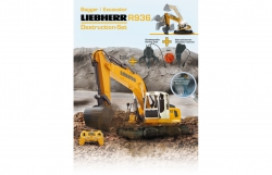 Bagger Liebherr R936 1:20 2,4G Destruction-Set Jamara 405112