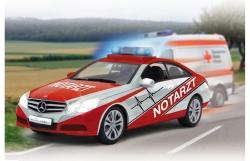 Mercedes E350 Coupe 1:16 Notarzt weiß-rot 2,4G Jamara 405130