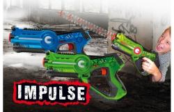 Impulse Laser Battle Set blau-grün Jamara 410036