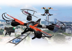 Loky FPV AHP+ Quadrocopter m. Kamera Jamara 422001