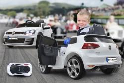 Ride-on VW Golf GTI VII weiß 2,4G 12V Jamara 460217