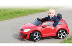 Ride-on VW Golf GTI VII rot 2,4G 12V Jamara 460218