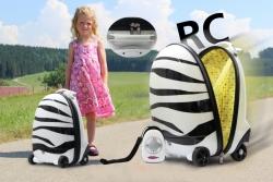 Kinderkoffer Zebra 2,4GHz Jamara 460221