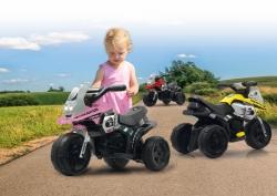 Ride-on E-Trike Racer pink Jamara 460228