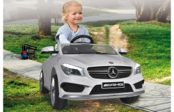 Ride-on Mercedes CLA45 AMG weiß 2,4G 12V Sensor Jamara 460245