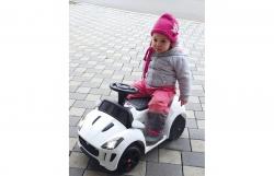 Ride-on Kiddy-Jaguar weiß 6V Jamara 460250