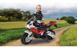 Ride-on Motorrad BMW S1000RR rot 12V Jamara 460280