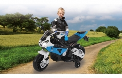 Ride-on Motorrad BMW S1000RR blau 12V Jamara 460281