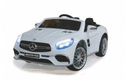 Ride-on Mercedes SL65 weiß 12V Jamara 460296