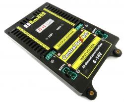 JETI Central Box CB400 mit 2x Sat2 und RC-Switch J-CB-400-RS-