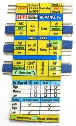 Jeti Advance Pro Prog Card Programmierkarte JA-PPPC