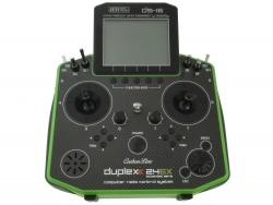 Jeti Hand-Sender DS-16 carbonline Multimode green... JDEX-TDS16-C
