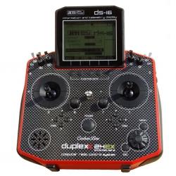 Jeti Hand-Sender DS-16 carbonline Multimode red edition JDEX-TDS16-C