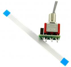 Jeti Schalter kurz 2 Pos. für DS-16 JMS-DS-TSS2