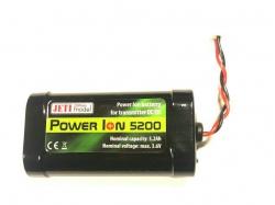 Power Ion  5200 Akku für Jeti Sender PI-5200-TX
