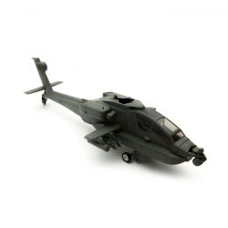 Blade Rumpf m. LEDs: Micro Apache AH-64 Horizon BLH2520