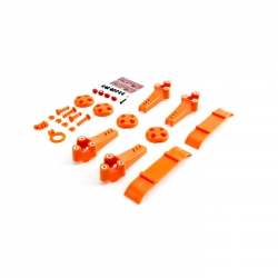 Plastic Kit, Orange: Vortex Pro Horizon BLH9214
