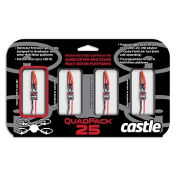 Castle Quadpack 25A 4er Pack Muliticopterset Horizon CSE010013200
