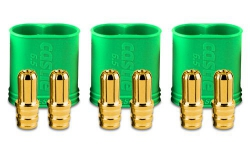 Castle 6.5mm Goldsteckverbindung, Stecker Horizon CSE011006800