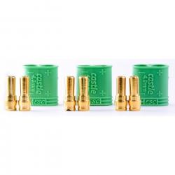 Castle 4mm Goldstecker, Stecker Horizon CSE011007500