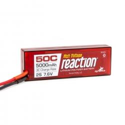 Reaction 7.6V HV 5000mAh 2S 50C LiPo Hardcase: TRA Horizon DYNB3852T