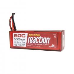 Reaction 15.2V HV 5000mAh 4S 50C LiPo Hardcase:EC5 Horizon DYNB3854EC