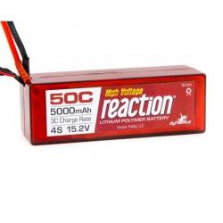 Reaction 15.2V HV 5000mAh 4S 50C LiPo Hardcase:TRA Horizon DYNB3854T