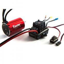 Dynamite Tazer 1/10 6-polig 3300kV Motor m. Regler Combo V2, spritzwassergeschützt Horizon DYNS0600