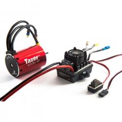 Dynamite Tazer 1/10 6-polig 4000kV Motor m. Regler Combo V2, spritzwassergeschützt Horizon DYNS0601