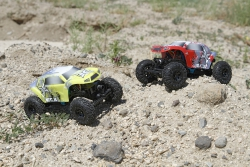 Temper 1:24 Rock Crawler: Red/White RTR Horizon ECX00012T1