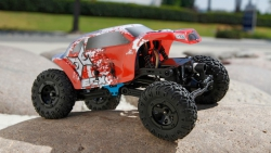 Temper 1:24 Rock Crawler: Yellow/White RTR Horizon ECX00012T2