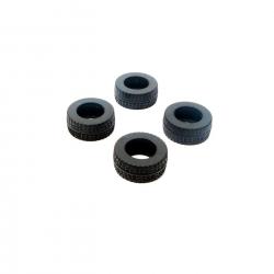 ECX Reifen vorne/hinten, montiert (4 Stk): 1:36 Horizon ECX40002
