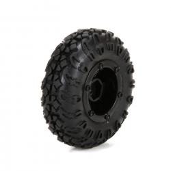 Front/Rear Premount Tire:1:24 4WD Temper Horizon ECX40005