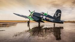 E-flite F4U-4 Corsair 1,2 m BNF Basic Horizon EFL8550
