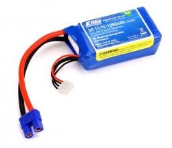 E-flite 3S 11,1V 1350mAh 30C LiPo-Akku m. EC3-Stecker Horizon EFLB13503S30