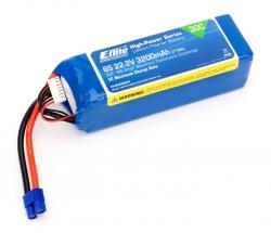 E-flite 6S 22,2V 3200mAh 30C LiPo-Akku m. EC3-Stecker Horizon EFLB32006S30
